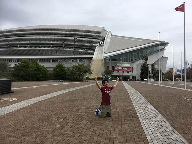 ゴール!!ようこそ神戸ストラットへ!!試合終了!!また当日会場でお会いしましょう!!以上!アクセスでしたー!!